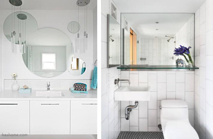 Có một cuộc cách mạng trong thiết kế phòng tắm nhỏ với 8 xu hướng phá vỡ quy tắc   - Ảnh 21.