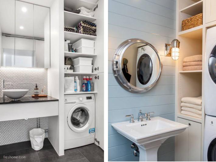 Có một cuộc cách mạng trong thiết kế phòng tắm nhỏ với 8 xu hướng phá vỡ quy tắc   - Ảnh 5.