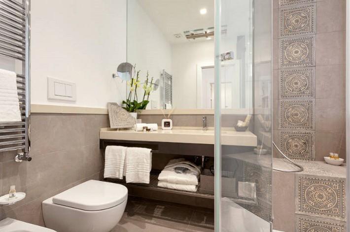 Có một cuộc cách mạng trong thiết kế phòng tắm nhỏ với 8 xu hướng phá vỡ quy tắc   - Ảnh 6.