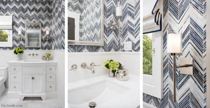 Có một cuộc cách mạng trong thiết kế phòng tắm nhỏ với 8 xu hướng phá vỡ quy tắc   - Ảnh 7.