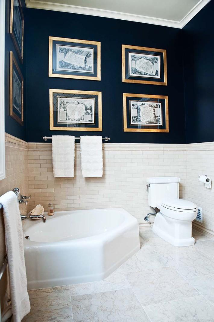 Đâu chỉ phòng khách, phòng ngủ mà phòng tắm cũng cần có một bức tranh treo tường - Ảnh 17.