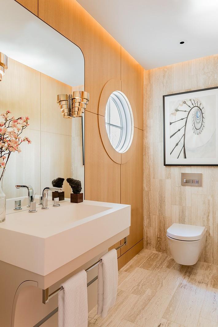 Đâu chỉ phòng khách, phòng ngủ mà phòng tắm cũng cần có một bức tranh treo tường - Ảnh 7.