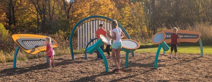 Thiết kế sân chơi ngoài trời cho trẻ như thế nào để hợp lý và thuận tiện nhất  - Ảnh 3.