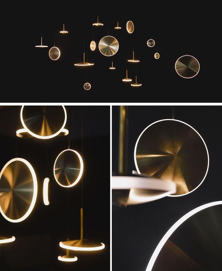 Có những mẫu đèn trang trí siêu ấn tượng này trong nhà thì còn sợ gì không gian sống đơn điệu - Ảnh 9.