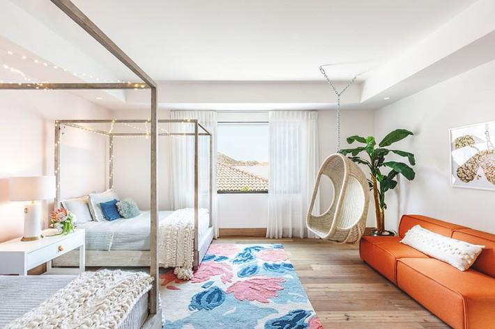 Lại thêm một không gian sống ấm cúng để bạn tham khảo có sự xuất hiện của gỗ và đá ở mọi nơi - Ảnh 7.
