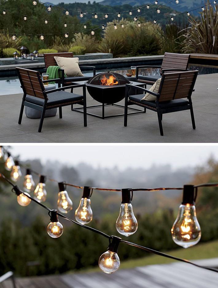 Ngôi nhà nhỏ sẽ lung linh hơn nhờ 8 ý tưởng sử dụng đèn trang trí dưới đây - Ảnh 3.