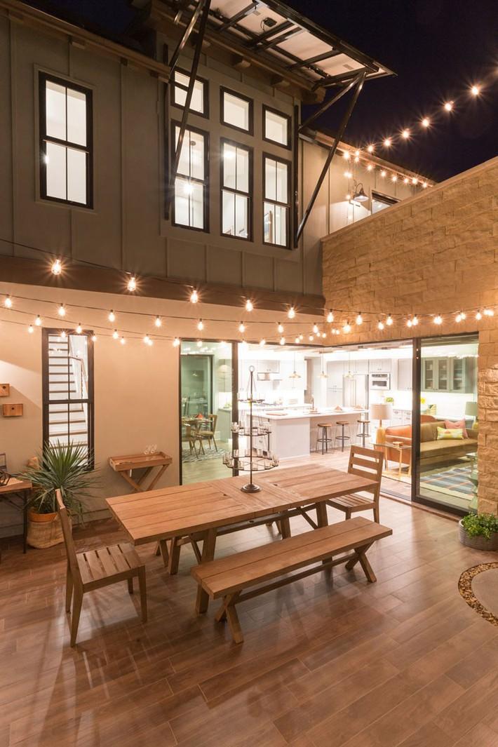 Ngôi nhà nhỏ sẽ lung linh hơn nhờ 8 ý tưởng sử dụng đèn trang trí dưới đây - Ảnh 4.