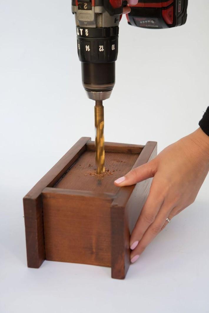 Tự tạo chậu cây xương rồng bằng gỗ cực đơn giản, chỉ cần bạn học theo phương pháp này - Ảnh 2.