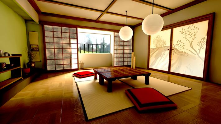 Một chút khám phá phong cách nhà ở kiểu Nhật. - Ảnh 1.