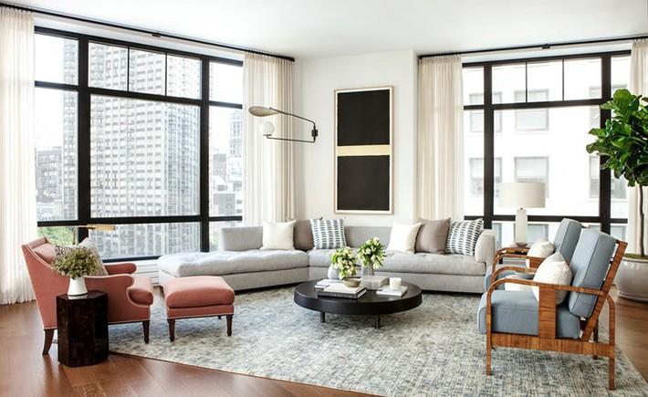 Nhìn xem bạn có thể học hỏi được rất nhiều từ những căn phòng khách có thiết kế hoàn hảo này - Ảnh 1.