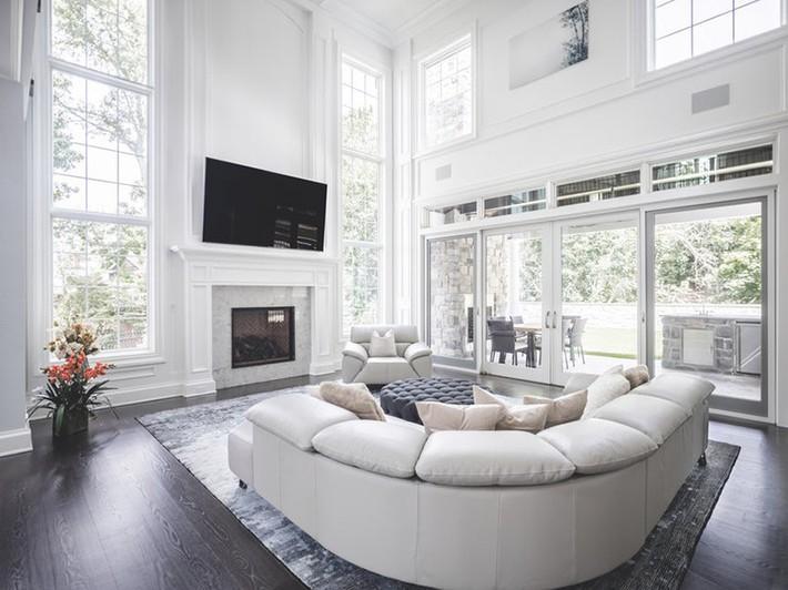 Nhìn xem bạn có thể học hỏi được rất nhiều từ những căn phòng khách có thiết kế hoàn hảo này - Ảnh 8.