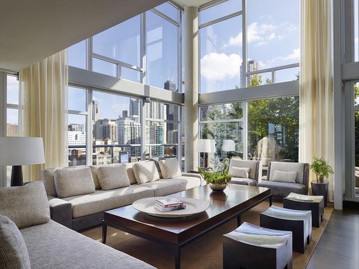 Nhìn xem bạn có thể học hỏi được rất nhiều từ những căn phòng khách có thiết kế hoàn hảo này - Ảnh 9.