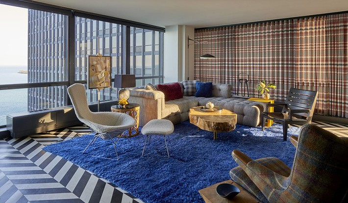 Nhìn xem bạn có thể học hỏi được rất nhiều từ những căn phòng khách có thiết kế hoàn hảo này - Ảnh 10.