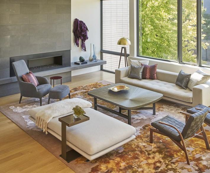 Nhìn xem bạn có thể học hỏi được rất nhiều từ những căn phòng khách có thiết kế hoàn hảo này - Ảnh 12.