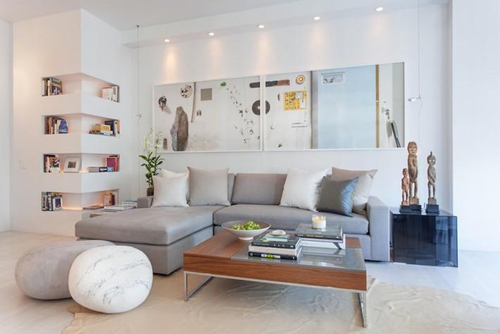 Nhìn xem bạn có thể học hỏi được rất nhiều từ những căn phòng khách có thiết kế hoàn hảo này - Ảnh 14.
