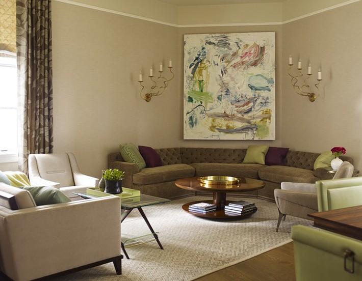 Nhìn xem bạn có thể học hỏi được rất nhiều từ những căn phòng khách có thiết kế hoàn hảo này - Ảnh 15.