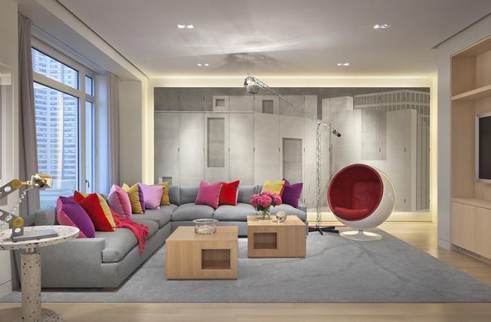 Nhìn xem bạn có thể học hỏi được rất nhiều từ những căn phòng khách có thiết kế hoàn hảo này - Ảnh 17.