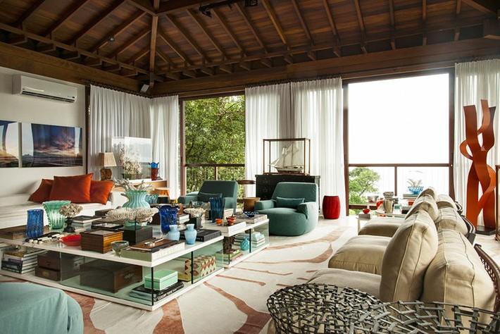 Nhìn xem bạn có thể học hỏi được rất nhiều từ những căn phòng khách có thiết kế hoàn hảo này - Ảnh 18.