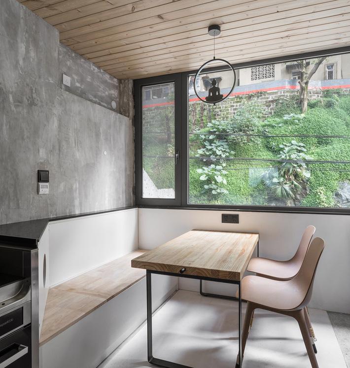 Căn hộ 71m2 gây thương nhớ với vẻ đẹp thân quen và bình dị của gỗ ở Trùng Khánh, Trung Quốc - Ảnh 10.