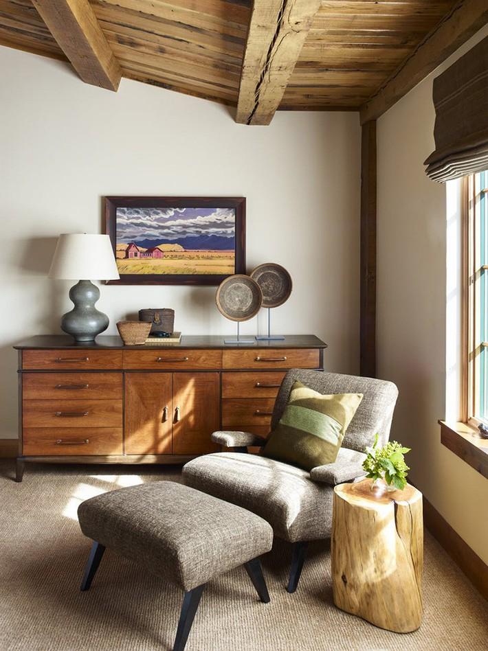 Nếu yêu thích vẻ mộc mạc của gỗ thô thì đừng bỏ lỡ những gợi ý thú vị dưới đây - Ảnh 11.