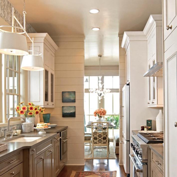 Những mẹo giúp bạn hô biến nhà bếp to lên trông thấy   - Ảnh 1.