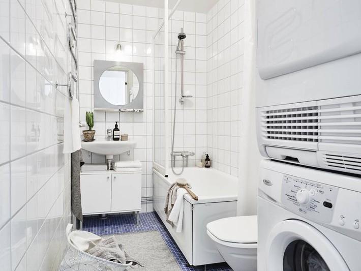 Căn hộ nhỏ chỉ 35m² nhưng được thiết kế đẹp đến từng đường nét - Ảnh 12.