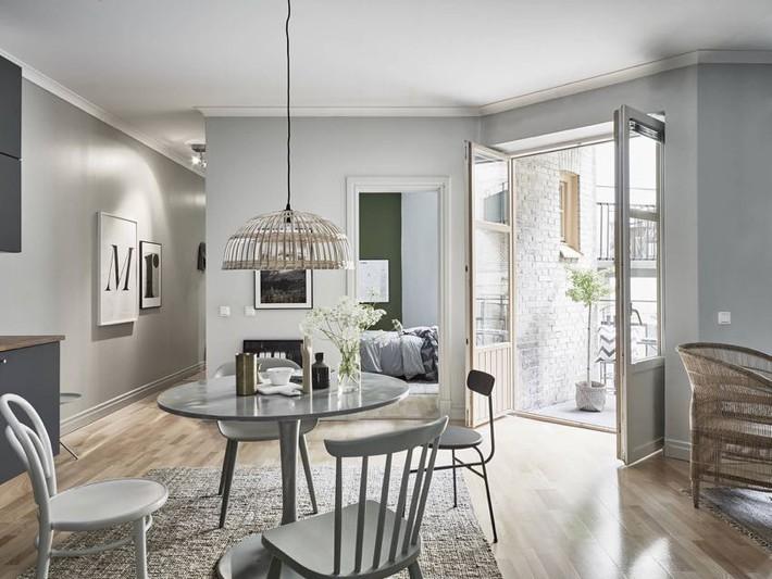 Căn hộ nhỏ chỉ 35m² nhưng được thiết kế đẹp đến từng đường nét - Ảnh 6.