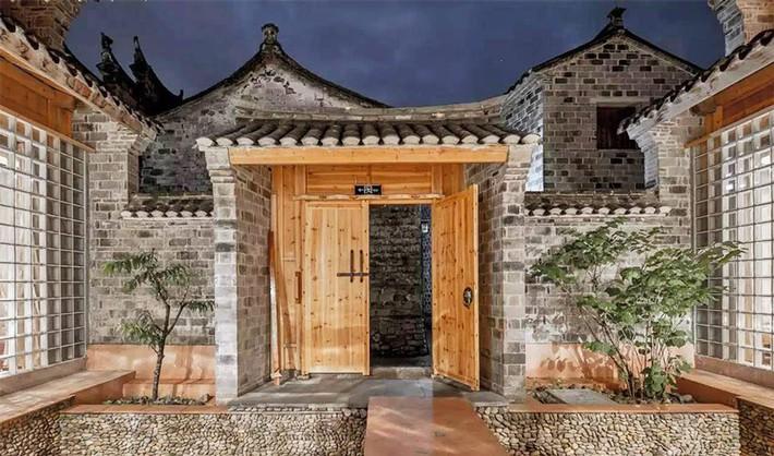 Ngôi nhà gỗ rộng 120m2 với kiến trúc đặc biệt từ thời Bắc Tống ở Chiết Giang, Trung Quốc - Ảnh 1.
