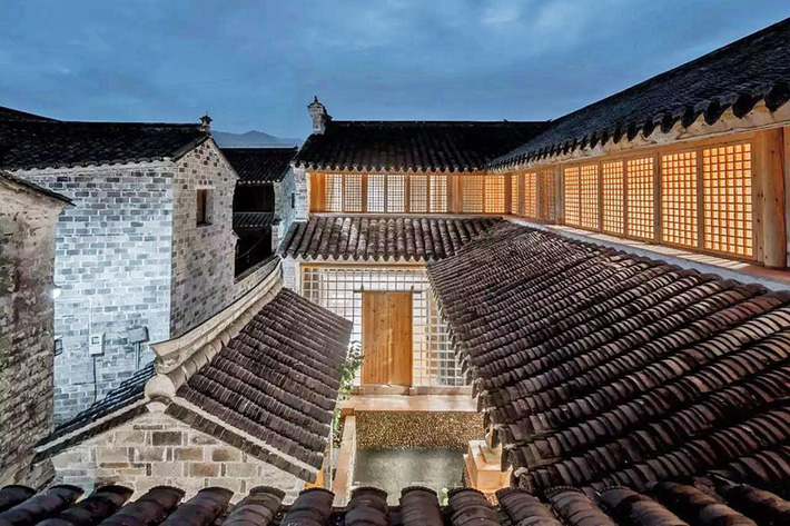 Ngôi nhà gỗ rộng 120m2 với kiến trúc đặc biệt từ thời Bắc Tống ở Chiết Giang, Trung Quốc - Ảnh 10.