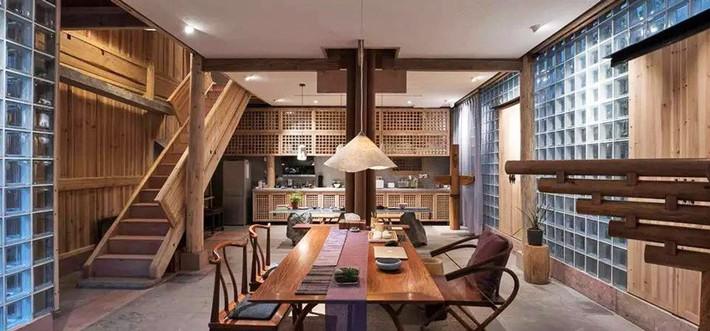 Ngôi nhà gỗ rộng 120m2 với kiến trúc đặc biệt từ thời Bắc Tống ở Chiết Giang, Trung Quốc - Ảnh 3.