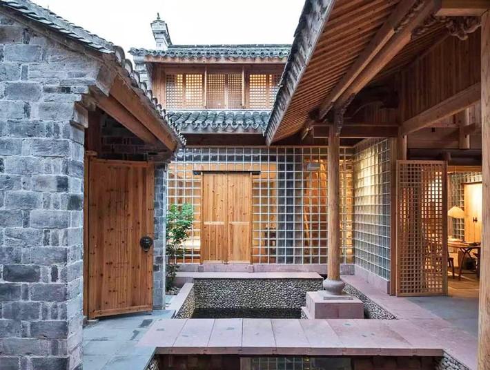 Ngôi nhà gỗ rộng 120m2 với kiến trúc đặc biệt từ thời Bắc Tống ở Chiết Giang, Trung Quốc - Ảnh 4.