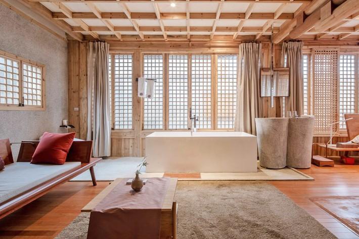 Ngôi nhà gỗ rộng 120m2 với kiến trúc đặc biệt từ thời Bắc Tống ở Chiết Giang, Trung Quốc - Ảnh 5.