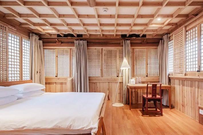 Ngôi nhà gỗ rộng 120m2 với kiến trúc đặc biệt từ thời Bắc Tống ở Chiết Giang, Trung Quốc - Ảnh 7.