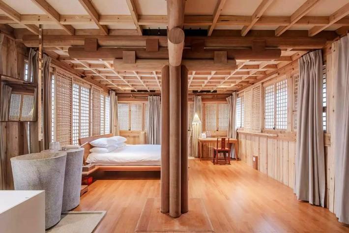 Ngôi nhà gỗ rộng 120m2 với kiến trúc đặc biệt từ thời Bắc Tống ở Chiết Giang, Trung Quốc - Ảnh 8.