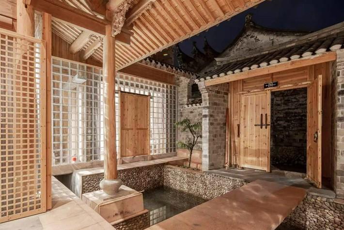 Ngôi nhà gỗ rộng 120m2 với kiến trúc đặc biệt từ thời Bắc Tống ở Chiết Giang, Trung Quốc - Ảnh 9.