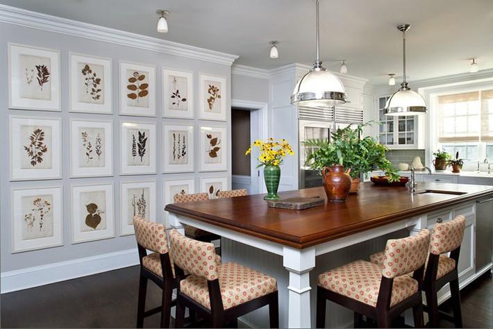 Tuyệt vời làm sao khi bạn có thể trang trí căn bếp gia đình từ chính những đồ dùng, dụng cụ nhà bếp - Ảnh 1.