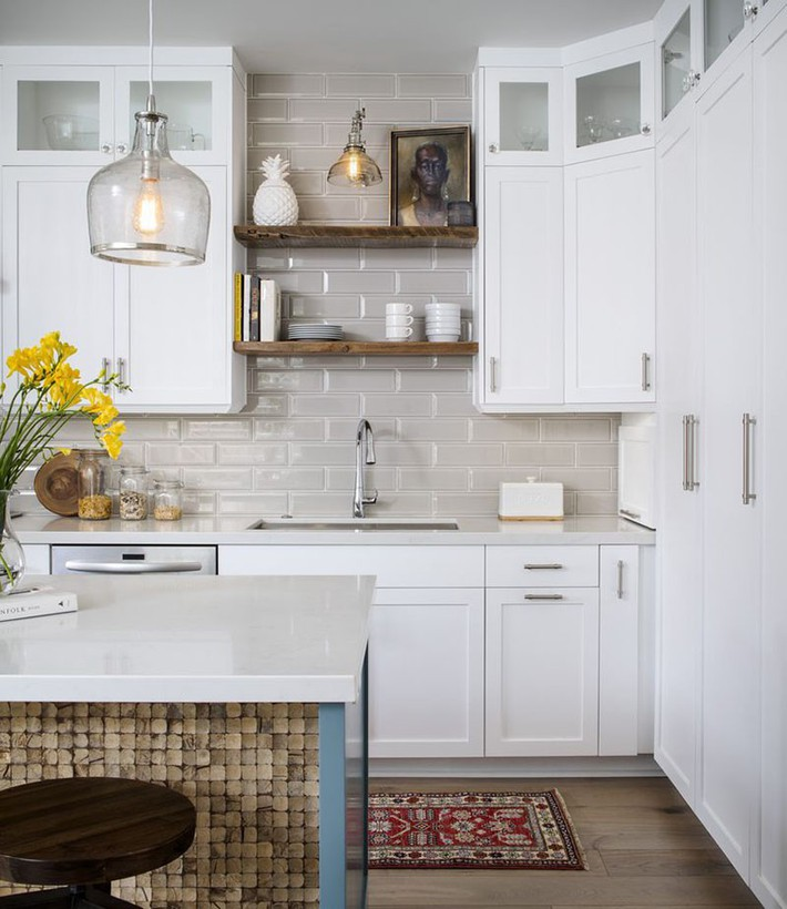Tuyệt vời làm sao khi bạn có thể trang trí căn bếp gia đình từ chính những đồ dùng, dụng cụ nhà bếp - Ảnh 11.