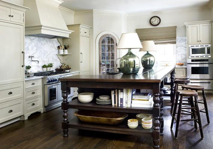 Tuyệt vời làm sao khi bạn có thể trang trí căn bếp gia đình từ chính những đồ dùng, dụng cụ nhà bếp - Ảnh 14.