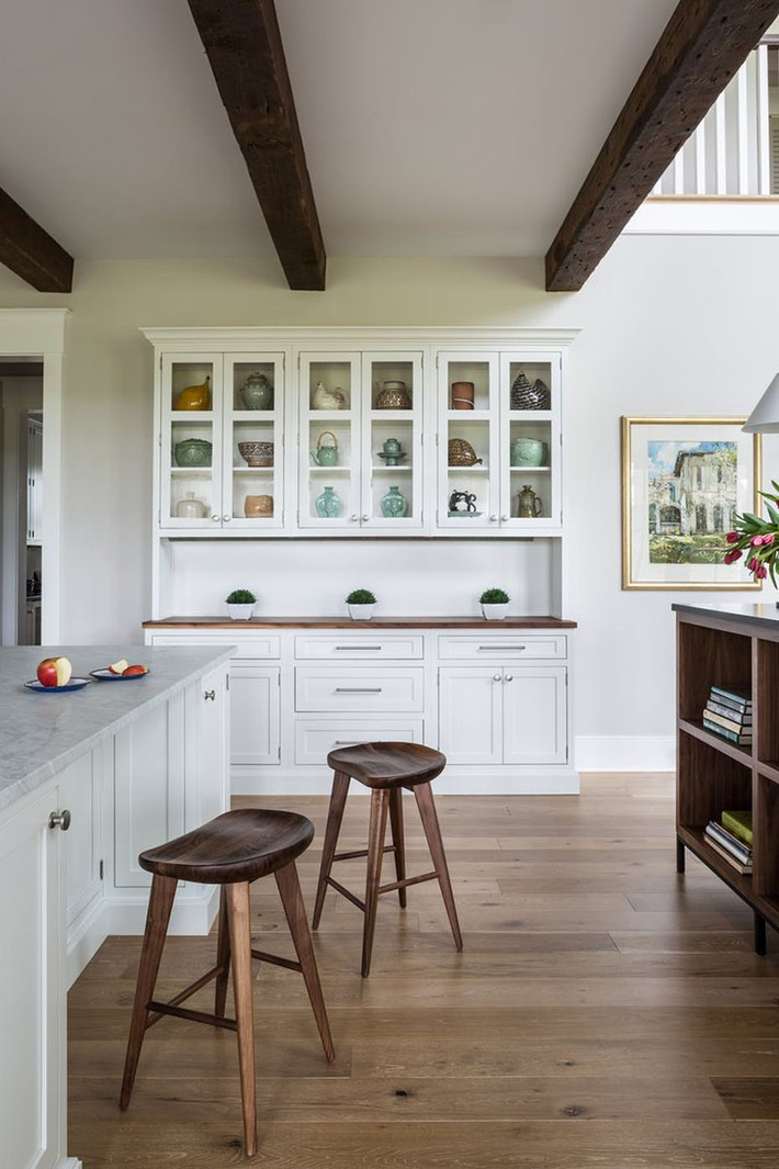 Tuyệt vời làm sao khi bạn có thể trang trí căn bếp gia đình từ chính những đồ dùng, dụng cụ nhà bếp - Ảnh 8.