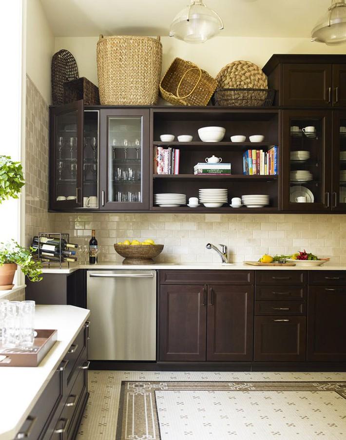 Tuyệt vời làm sao khi bạn có thể trang trí căn bếp gia đình từ chính những đồ dùng, dụng cụ nhà bếp - Ảnh 10.