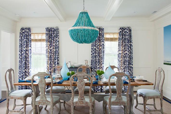 Hãy cẩn thận không bạn sẽ bị choáng ngợp bởi những căn phòng ăn dành riêng cho đại gia đình này - Ảnh 4.