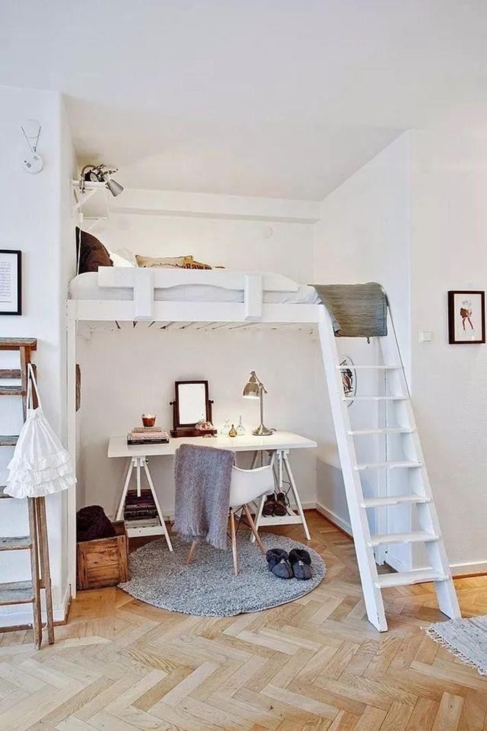 Những chiếc giường tiết kiệm không gian một cách hoàn hảo - Ảnh 10.