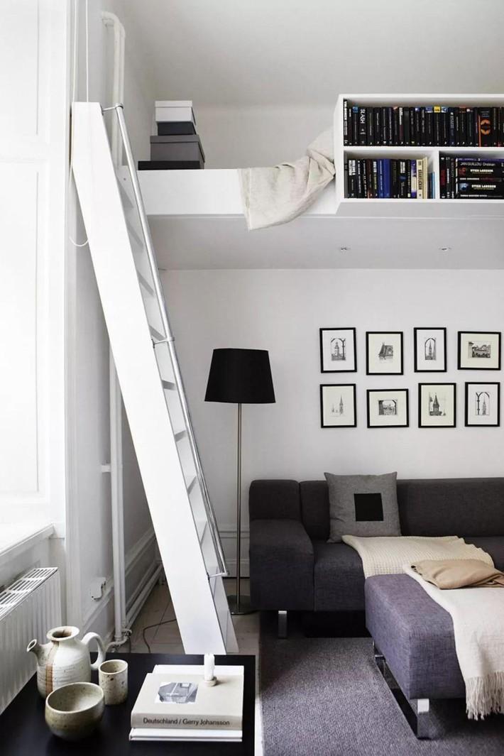 Những chiếc giường tiết kiệm không gian một cách hoàn hảo - Ảnh 9.