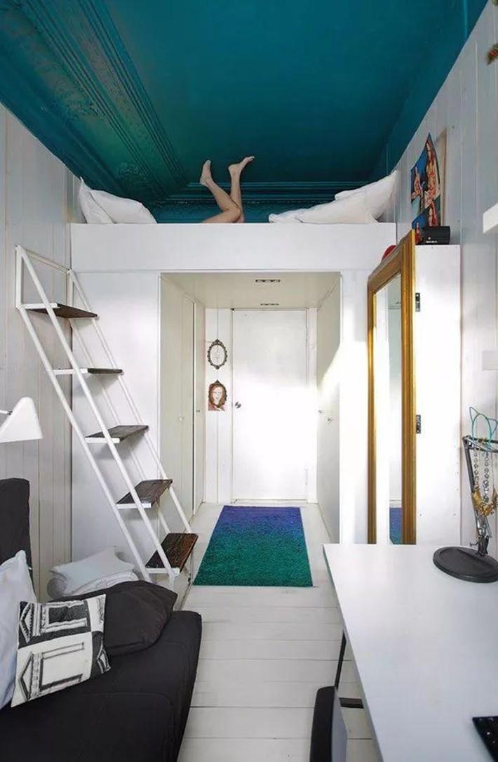 Những chiếc giường tiết kiệm không gian một cách hoàn hảo - Ảnh 11.