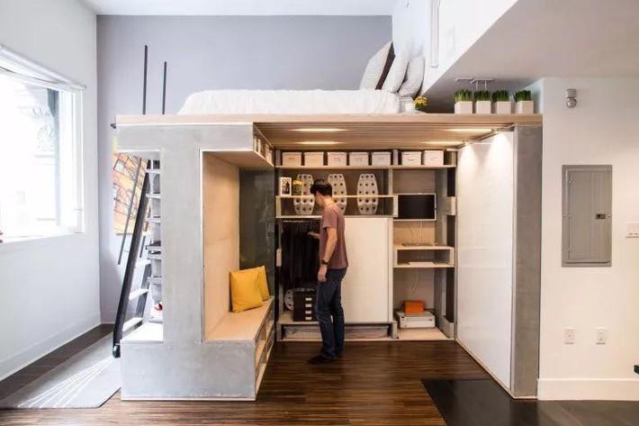 Những chiếc giường tiết kiệm không gian một cách hoàn hảo - Ảnh 3.