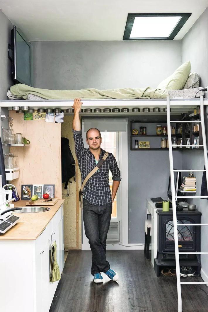 Những chiếc giường tiết kiệm không gian một cách hoàn hảo - Ảnh 5.