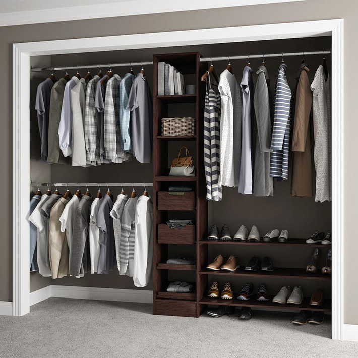Những gợi ý nhỏ cho phòng thay quần áo sang chảnh hết cỡ - Ảnh 1.