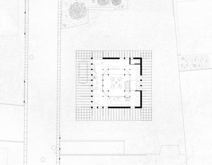Ngôi nhà có mặt tiền 4 hình chữ nhật gây choáng vì cấu trúc gỗ đẹp tinh xảo bên trong - Ảnh 10.