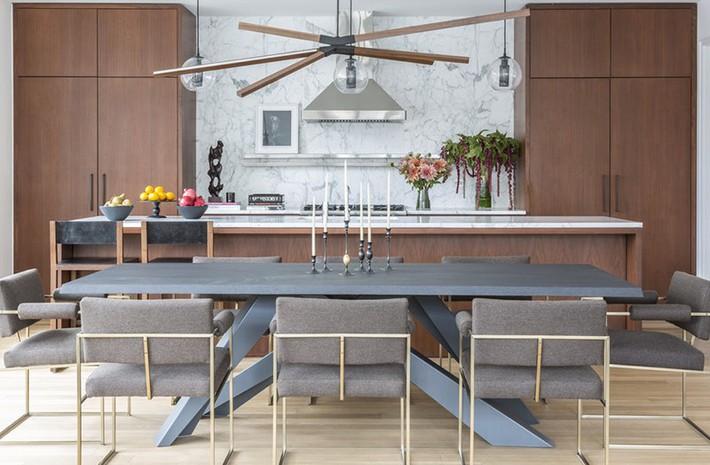 Chẳng thể ngờ những bộ khung kim loại lại mang đến vẻ đẹp sang trọng đến vậy cho nội thất gia đình - Ảnh 15.
