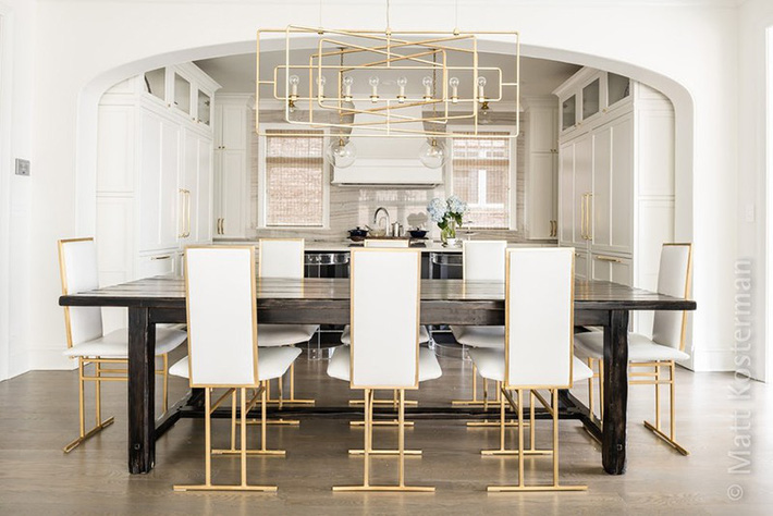 Chẳng thể ngờ những bộ khung kim loại lại mang đến vẻ đẹp sang trọng đến vậy cho nội thất gia đình - Ảnh 5.
